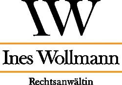 Rechtsanwältin Ines Wollmann